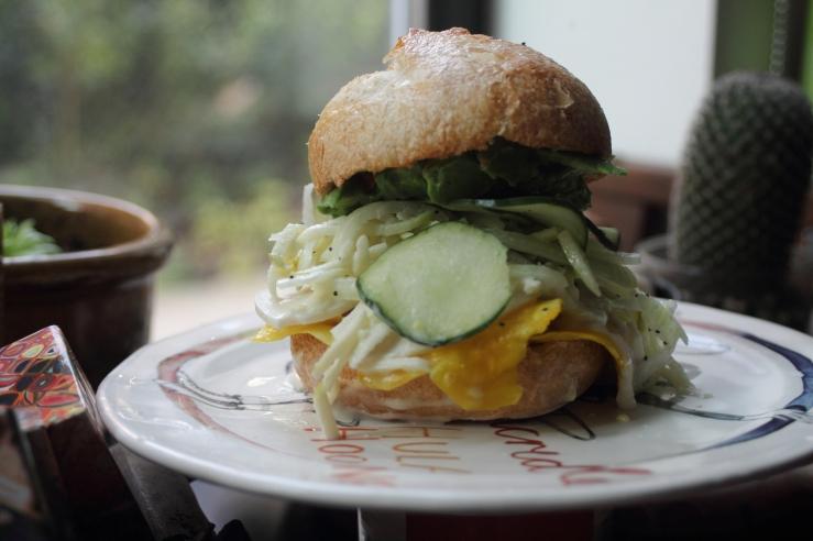beet sandwich