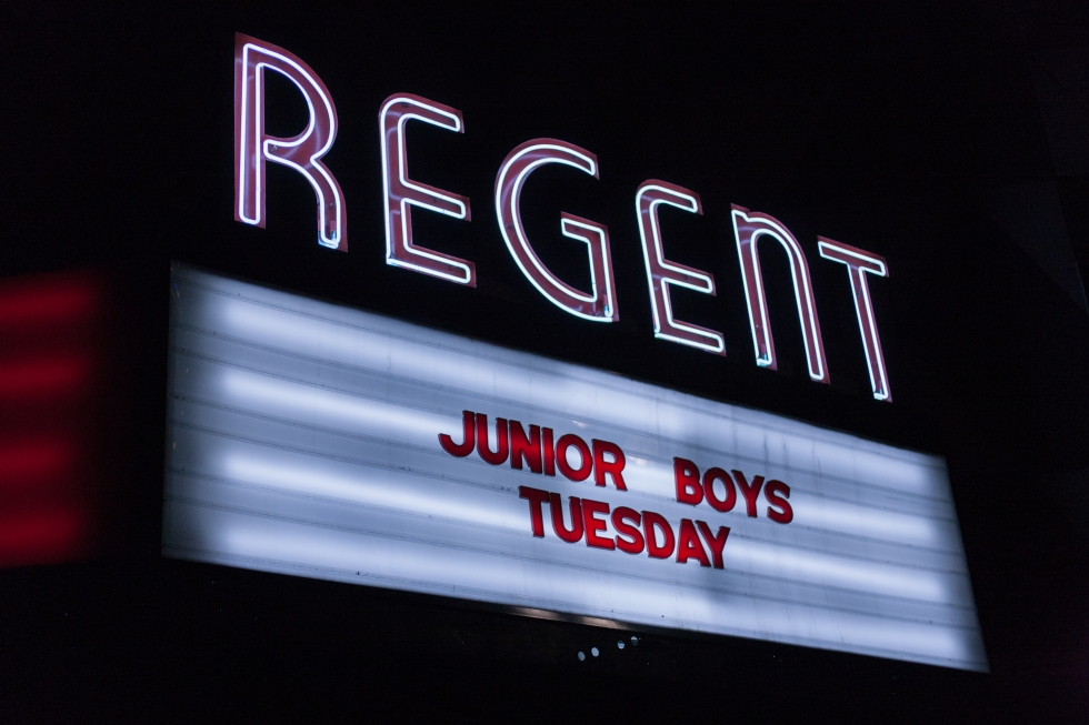 Junior Boys @ The Regent in L.A.