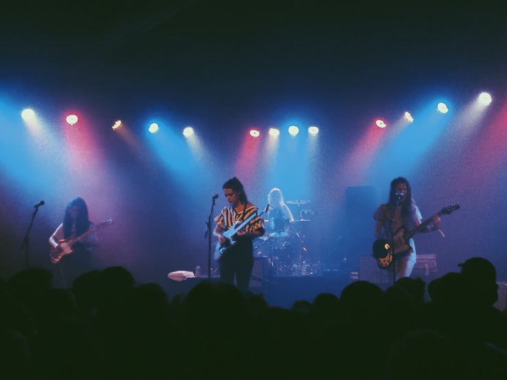 Hinds @ The Glass House in Pomona // all photos by T.J.