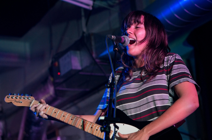 Courtney Barnett at Rough Trade / photo by Paul Hudson