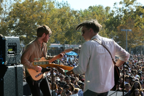 Wild Nothing on a Sunday // photo by: Goldenvoice