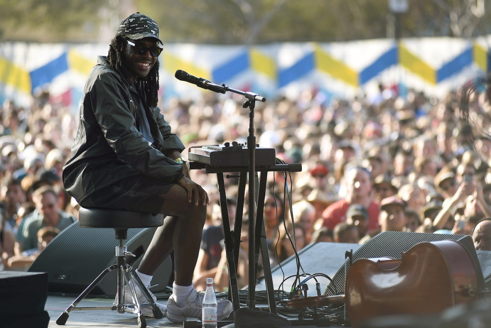Blood Orange @ Main // photo by Goldenvoice