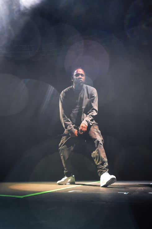 King Kendrick // photo by: Goldenvoice