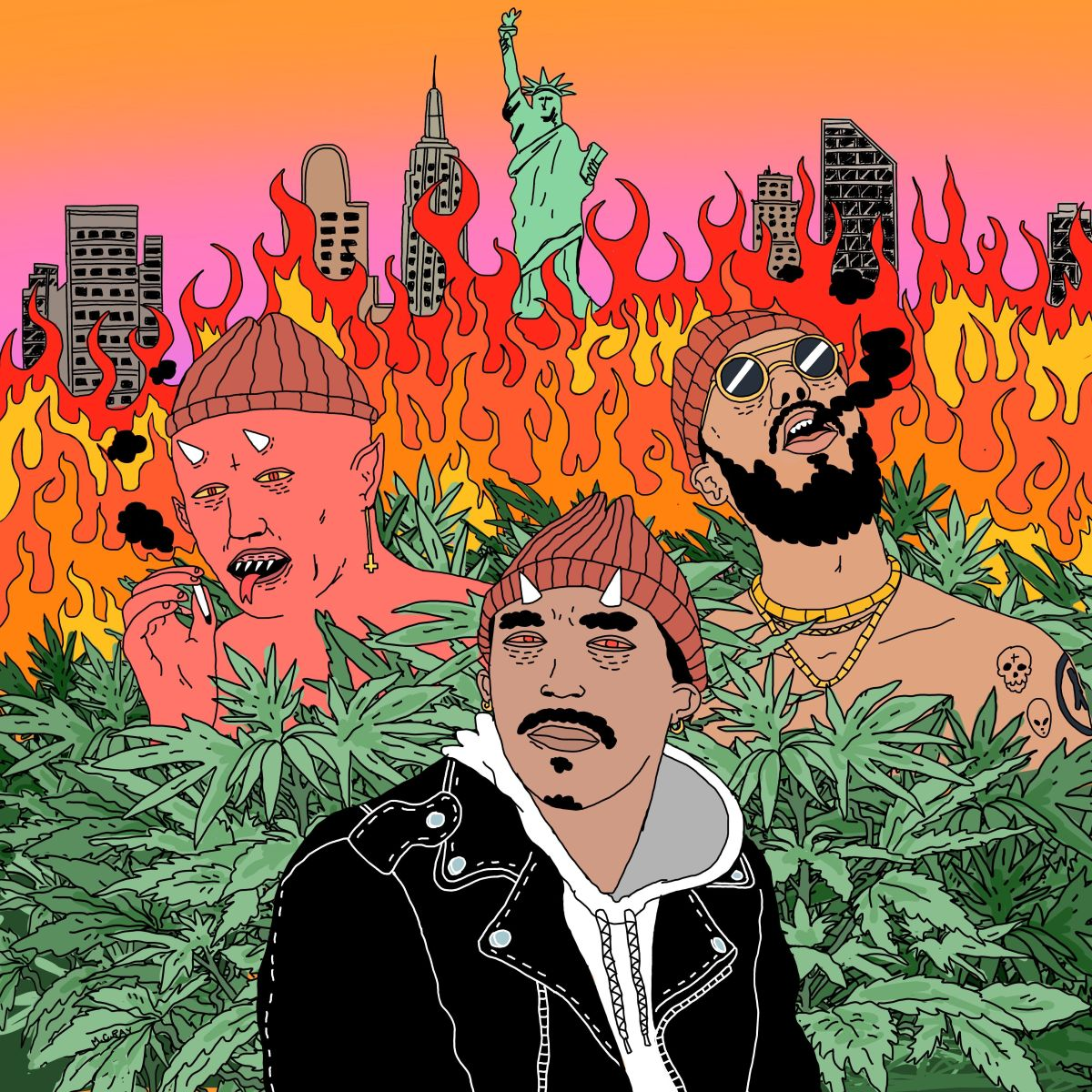 """Kahiem Rivera's Unifying """"Smokin' Weed with the Devil"""" is the Dance Track of 2018."""